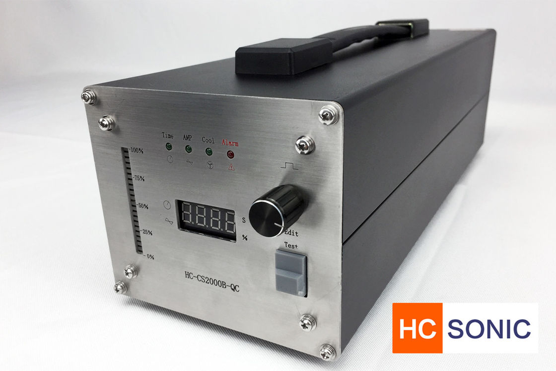Easy Take Ultrasonic High Power Generator For Welding / Cutting / Sealing