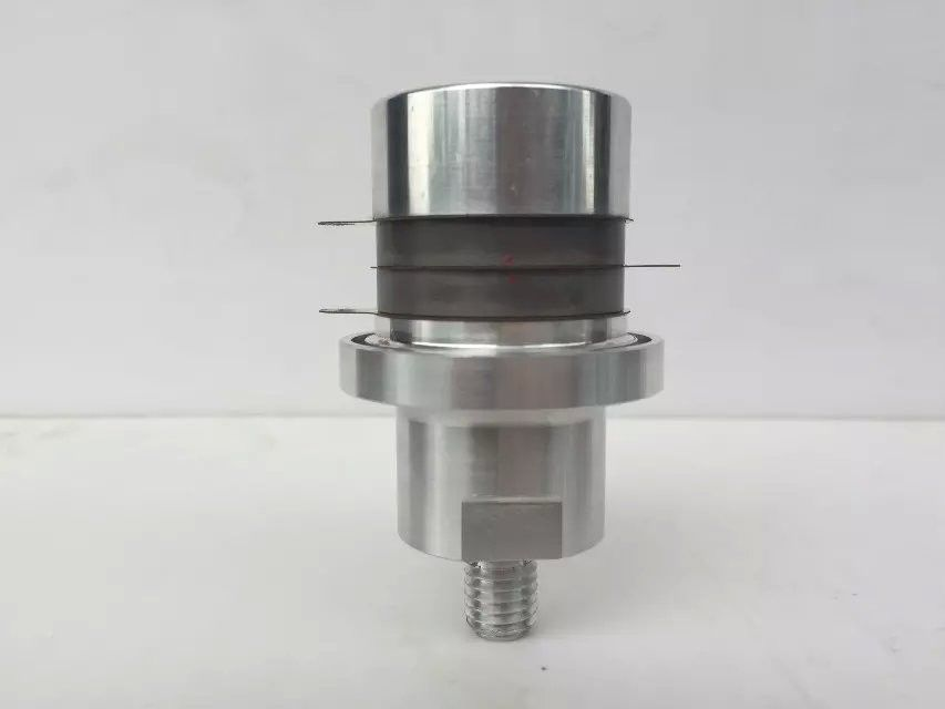 4 Ceramic Chips Ultrasonic Welding Converter 50mm Diameter For Plastic Assembly