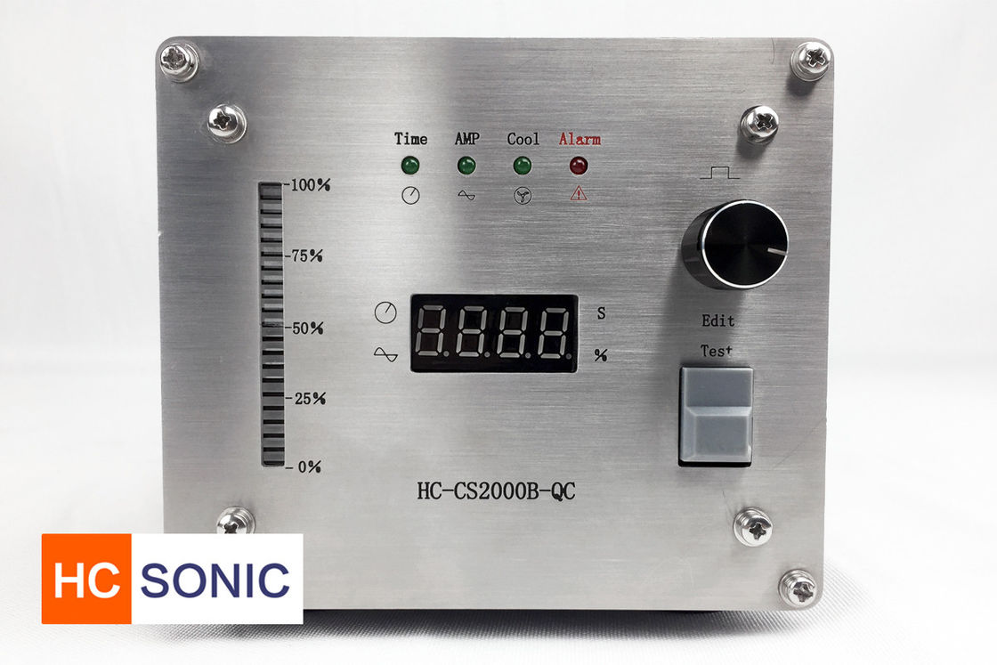 Easy Operation Ultrasonic High Power Pulse Generator 15Khz Frequency Auto Tracking