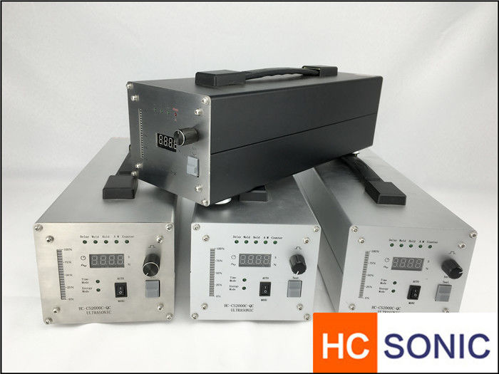 20 KHz 1200W Ultrasonic Power Supply HC-2000 For Non Woven Face Mask Making