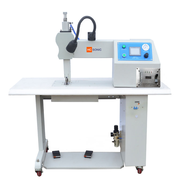 Fabric melt-blown and PP roll seam ultrasonic welding/sewing machine