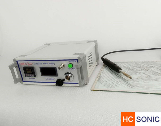 Corrosion Free Ultrasonic Soldering Equipment Iron Metal Soldering On Ceramic